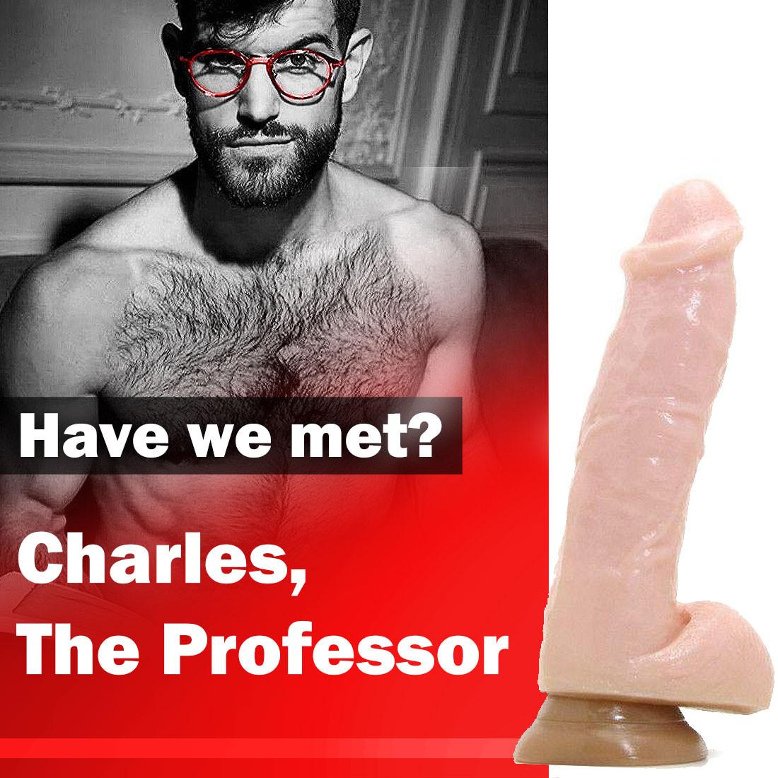 AVERAGE JOE Dildo: Charles - The Professor