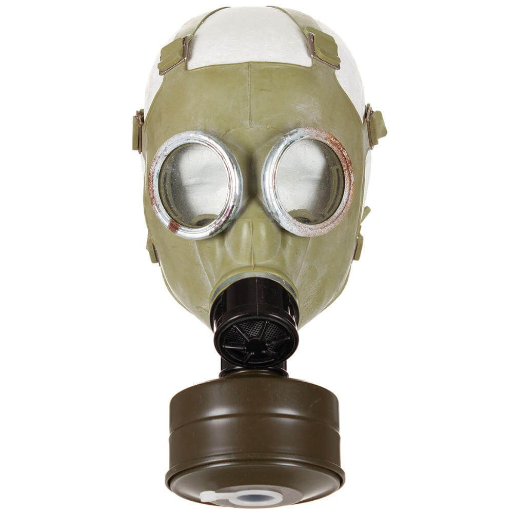 Polish Gas Mask MC1 + Filter